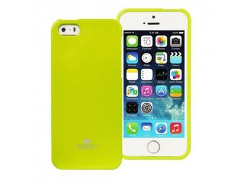 Mercury Jelly Case Apple iPhone 5,5S,5SE Färg: Lime