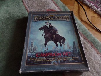 ADVANCED DUNGEONS & DRAGONS FORGOTTEN REALMS - CAMPAIGN SET  - TSR