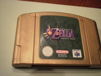 The Legend Of Zelda Majoras Mask - N64 / Nintendo 64