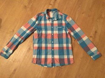 Snygg rutig skjorta strl 164 - Solna - Snygg rutig skjorta strl 164 - Solna