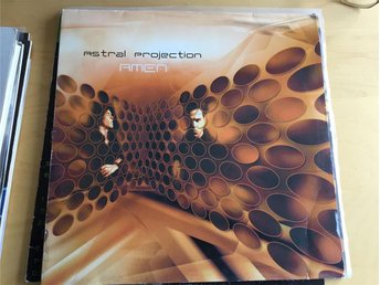 Astral Projection - Amen, 2 x vinyl electronica, trance, techno