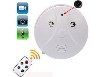 SPY Hidden Camera Smoke Detector Motion Detection Video Recorder Cam