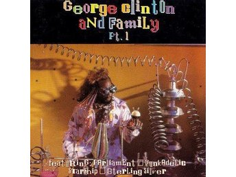 Various - George Clinton And Family Pt. 1 (1992) CD, Essential ESSCD 185, OOP - Ekerö - Various - George Clinton And Family Pt. 1 (1992) CD, Essential ESSCD 185, OOP - Ekerö