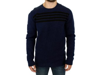 Costume National - Blue striped sweater pullover