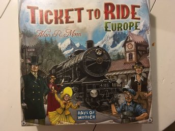 Ticket to ride sällskapsspel