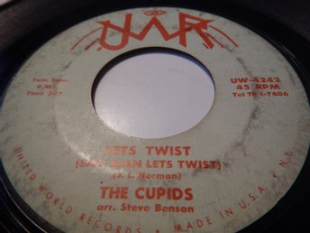 The Cupids-Lets twist --US orginal !!!