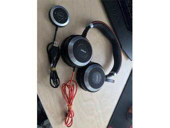 Jabra Evolve 80 (Aktiv Brusreducering)