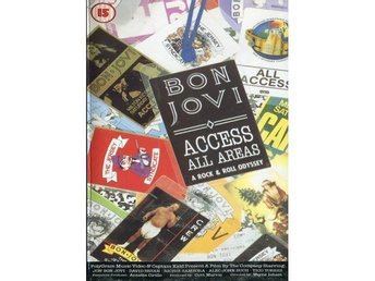 Bon Jovi -Access all areas VHS Jersey Syndicate Tour 88-90
