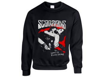 Scorpions - Love At First Sting Sweatshirt Small