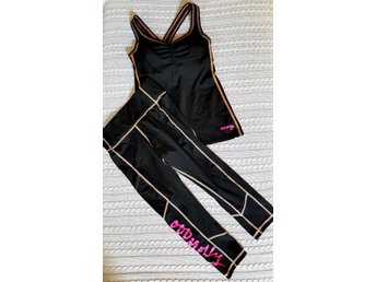 Sprinter solid tank top och leggings. ODD MOLLY. Ny! Storlek 1=36/38