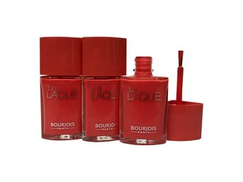 Bourjois Nagellack 3-pack  - La Laque # Orange Outrant