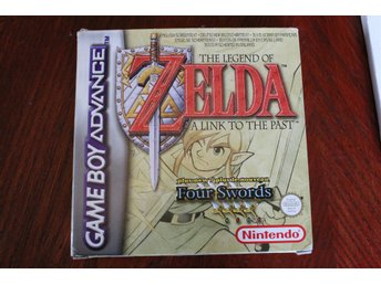 Zelda - A Link To the Past / Four Swords - GBA - Gameboy Advance