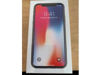 Ny Apple iPhone X 64 GB Kvitto + Garanti
