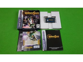 Golden Sun The Lost Age KOMPLETT Gameboy Advance Nintendo GBA