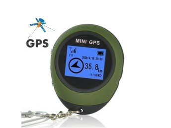 Mini GPS Receiver + Location Finder Keychain