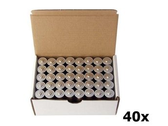 40-Pack Panasonic Powerline Industrial LR6/AA alkaline BL015