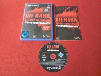 DIE HARD VENDETTA till Playstation 2 PS2 - Blomstermåla - DIE HARD VENDETTA till Playstation 2 PS2 - Blomstermåla