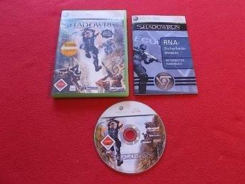 SHADOWRUN till Xbox 360 - Blomstermåla - SHADOWRUN till Xbox 360 - Blomstermåla