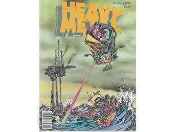 HEAVY METAL ADULT FANTASY MAGAZINE FEBRUARY 1979