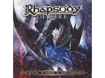 RHAPSODY OF FIRE-2LP LTD 500ex Gold Vinyl-Into The Legend-Italian Symphony Power