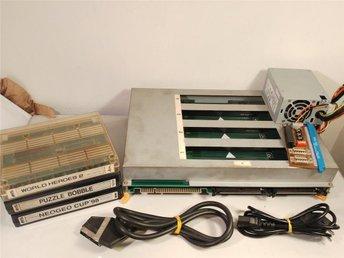 Neo Geo MVS 4-Slot +3 Spel Jamma MAK Supergun Kablar Fungerar! NEOGEO - Torslanda - Neo Geo MVS 4-Slot +3 Spel Jamma MAK Supergun Kablar Fungerar! NEOGEO - Torslanda