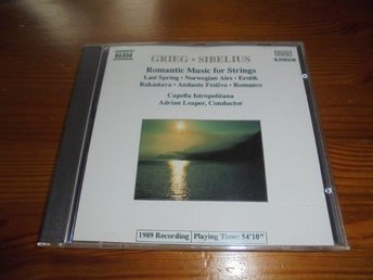 Grieg & Sibelius - Romantic Music for Strings (NAXOS)