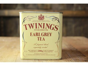 Teburk Twinings earl grey