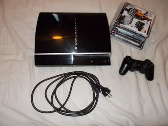 Playstation 3 med 7 spel