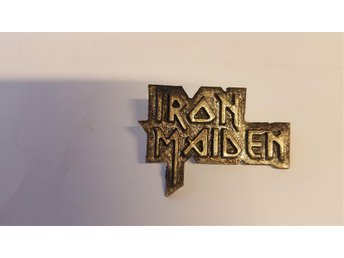 Iron Maiden badge/pin