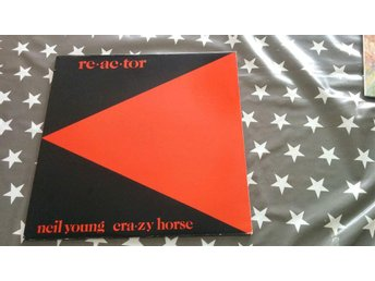 Neil Young & Crazy Horse - Re-ac-tor  LP!