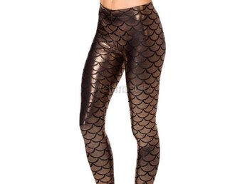Leggings Bruna Mermaid Scales Medium Strumpor Tights Strumpbyxor Aquaman