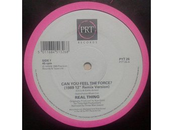 "Real Thing title* Can You Feel The Force?* House, Disco 12"" UK"