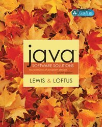 Java Software Solutions av John Lewis , William Loftus 9780321269799