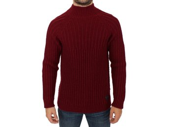 Costume National - Bordeaux wool knitted sweater