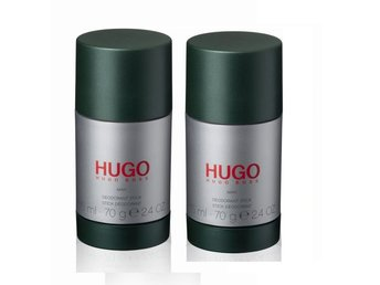 2 Pack Deodorant hugo boss Man 75ml deo stick pris 570kr