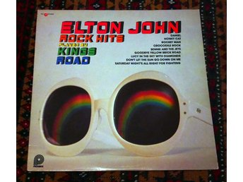ELTON JOHN Rock Hits by KINGS ROAD 1975 Rare Canada