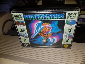 WINTERGAMES till Commodore 64
