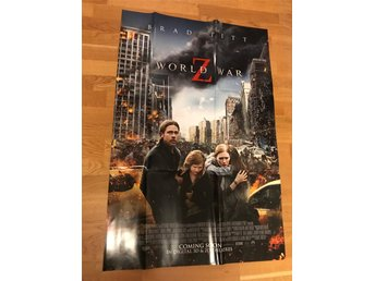 Filmaffisch - World War Z