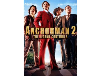 DVD - Anchorman 2: The Legend Continues (Beg)