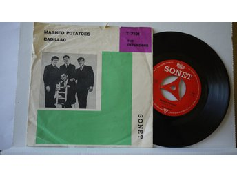 "The Defenders - Mashed Potatoes + Cadillac      7""   1965"