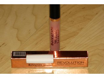 Makeup Revolution Salvation läppstift lippstick nude NY