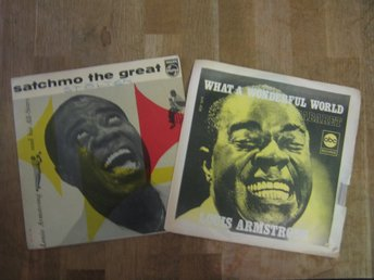 2 st Singel+EP: Louis Armstrong