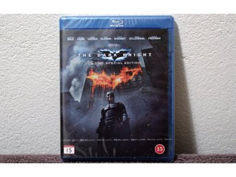 THE DARK KNIGHT  2 DISC SPECIAL ADITION   BLU-RAY  NY INPLASTAD