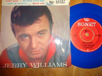 "Jerry Williams ""Forty Days"""