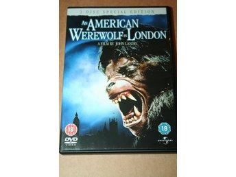En amerikansk varulv i London - import   Svensk text (2-disc Special Edition 604b5f86d573d