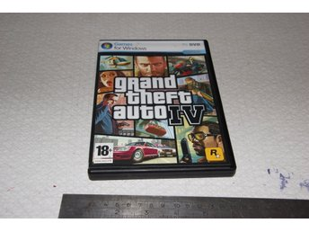 Pc spel. Grand Teft Auto IV, GTA IV