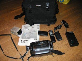 CANON UC9HiE,, Hi8 8mm VIDEO CAMCORDER MED TILL   (360885175