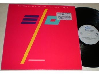 Electric Light Orchestra Lp Balance Of Power 1986 M-