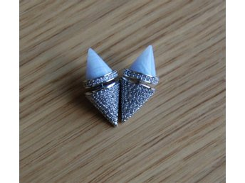 Eddie Borgo Twin Cone Studs Earrings