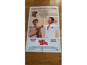 Peter Falk 1979 The In Laws Original USA Movie Poster Affisch